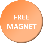 Free magnet button
